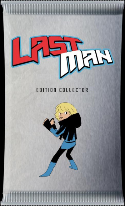 Couverture last man tome 1 - collector