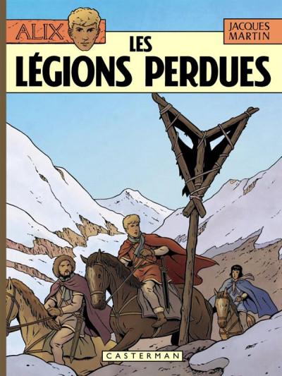 Couverture Alix tome 6 - les légions perdues