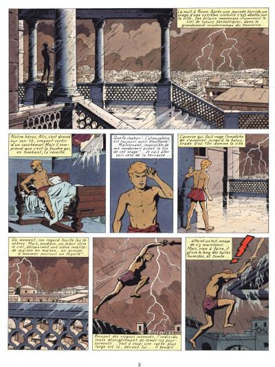 Page 1 Alix tome 6 - les légions perdues