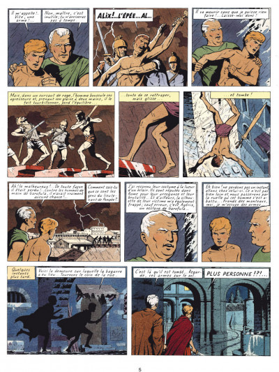 Page 3 Alix tome 6 - les légions perdues