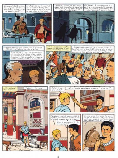 Page 4 Alix tome 6 - les légions perdues