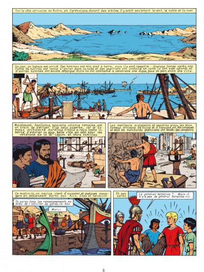 Page 1 Alix - éd. anniversaire tome 9 - le dieu sauvage
