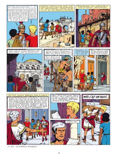 Page 2 Alix - éd. anniversaire tome 9 - le dieu sauvage