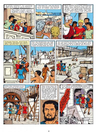 Page 4 Alix - éd. anniversaire tome 9 - le dieu sauvage