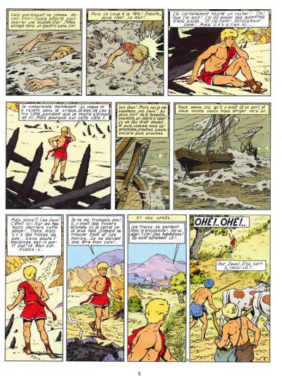 Page 3 Alix - éd. anniversaire tome 7 - Le dernier spartiate