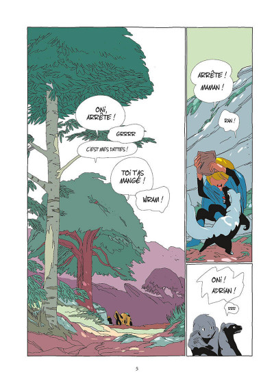 Page 6 Lastman tome 3