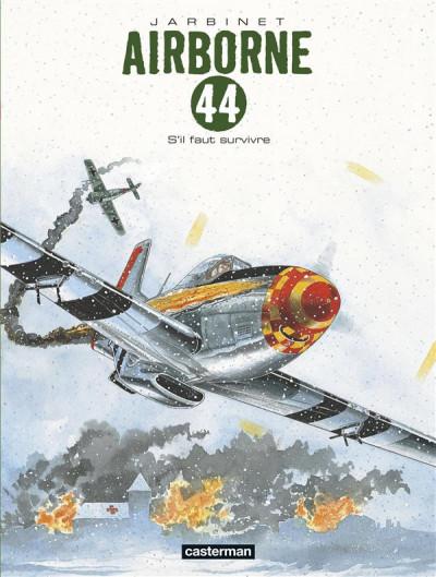 Couverture Airborne 44 tome 5 - s'il faut survivre...