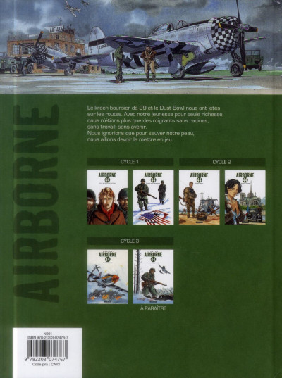 Dos Airborne 44 tome 5 - s'il faut survivre...