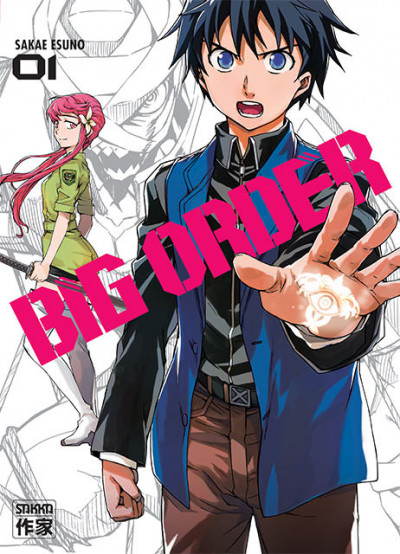 Couverture Big order tome 1