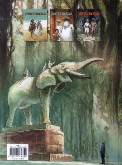 Dos Africa dreams tome 1 - l'ombre du roi - prix spécial