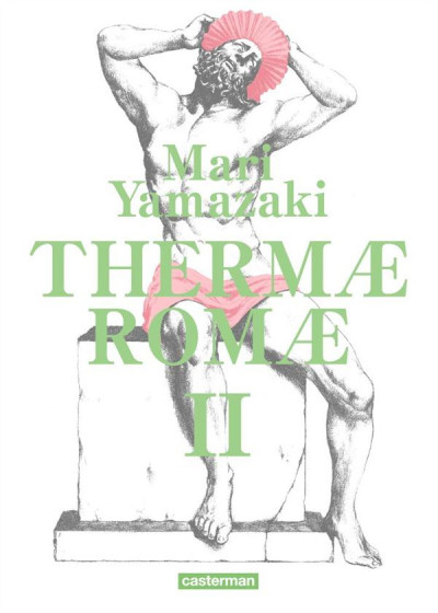 Couverture Thermae romae tome 2 - édition deluxe