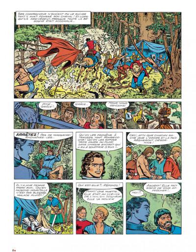 Page 4 Chevalier ardent intégrale tome 3 (nouvelle édition)