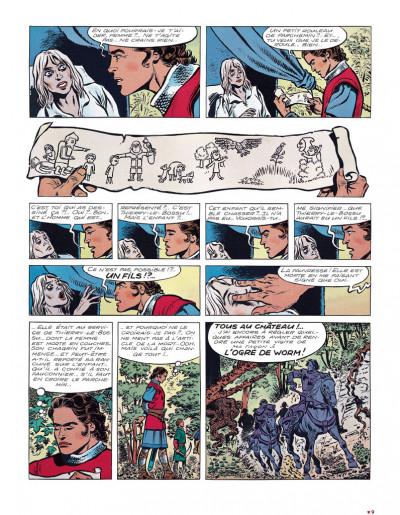 Page 5 Chevalier ardent intégrale tome 3 (nouvelle édition)