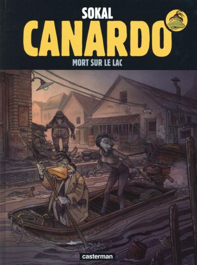 image de Canardo tome 23 - mort sur le lac