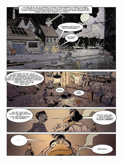 Page 1 Canardo tome 23 - mort sur le lac