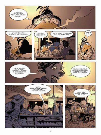 Page 2 Canardo tome 23 - mort sur le lac