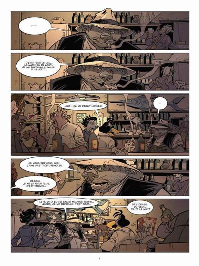 Page 3 Canardo tome 23 - mort sur le lac