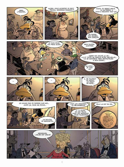 Page 5 Canardo tome 23 - mort sur le lac