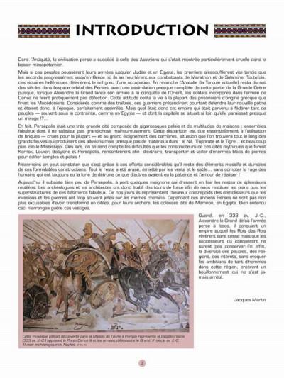 Page 1 Les voyages d'Alix - Persepolis (édition 2014)