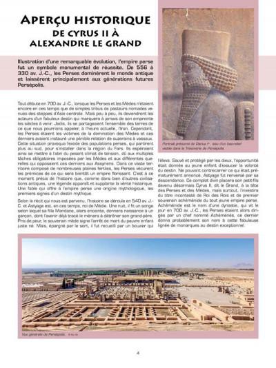 Page 2 Les voyages d'Alix - Persepolis (édition 2014)