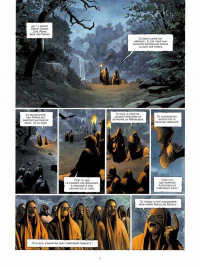 Page 1 Alix Senator tome 3