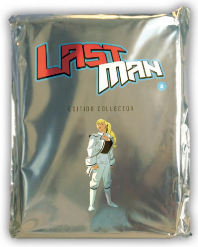 Couverture Lastman tome 3 - Collector
