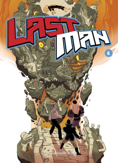 Couverture Lastman tome 6