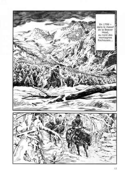Page 2 Les contrées sauvages tome 1
