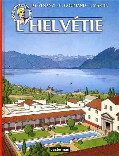 Couverture Les voyages d'Alix - L'Helvétie