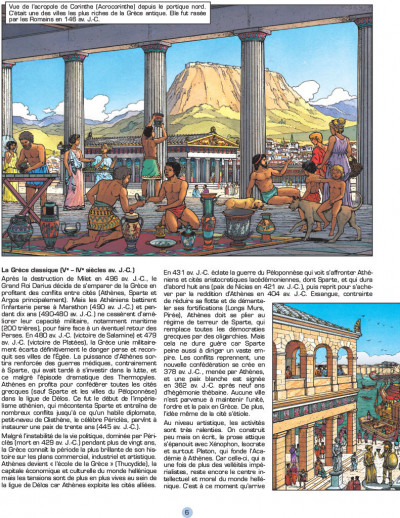 Page 3 Les voyages d'alix - grèce
