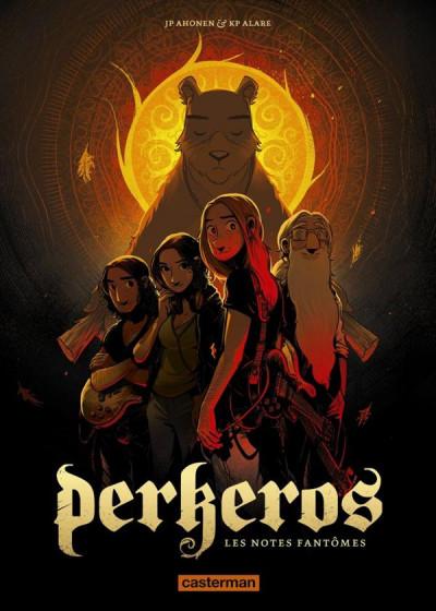 Couverture Perkeros tome 1 - les notes fantômes