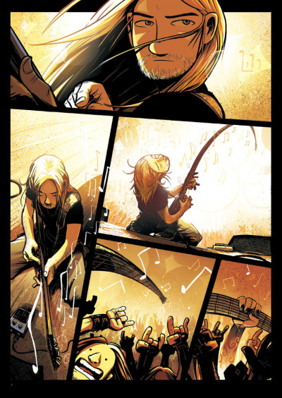Page 1 Perkeros tome 1 - les notes fantômes