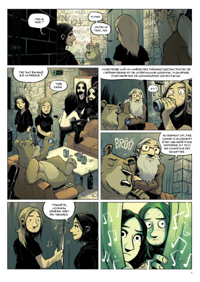 Page 4 Perkeros tome 1 - les notes fantômes