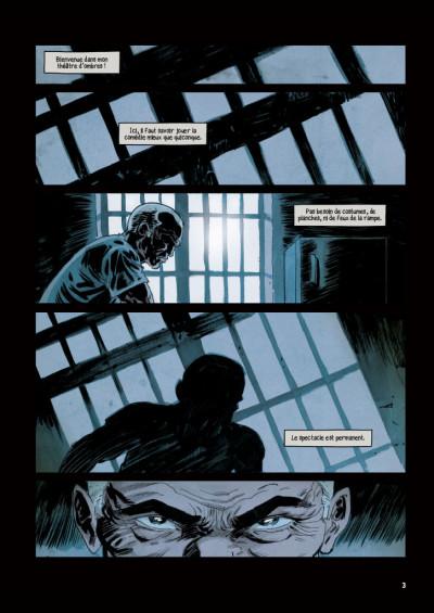 Page 1 Face au mur tome 1
