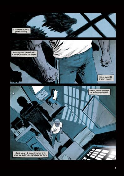 Page 3 Face au mur tome 1