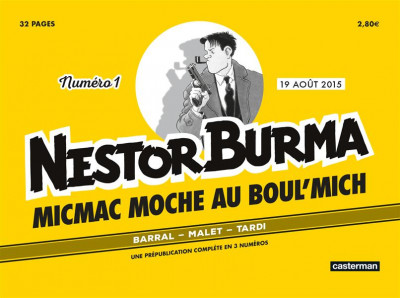Couverture Nestor Burma Journal tome 2