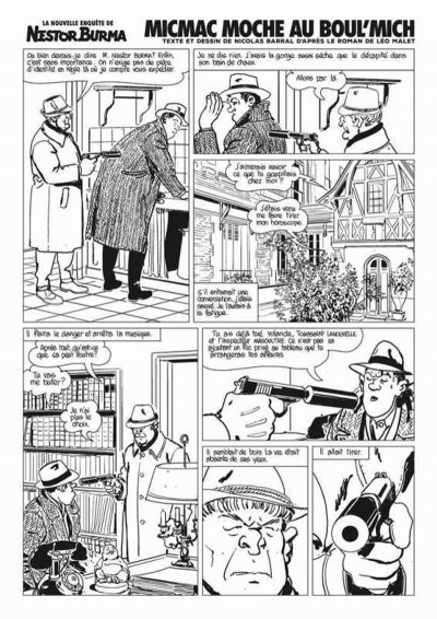 Page 3 Nestor Burma Journal tome 3
