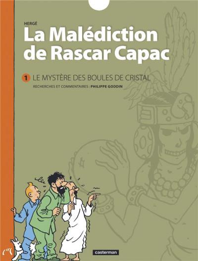 Couverture La Malédiction de Rascar Capac tome 1 - Les mystères des boules de cristal