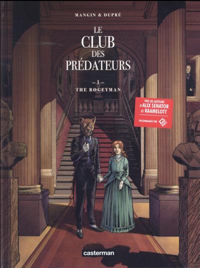 image de Le club des prédateurs tome 1 - Le Bogeyman