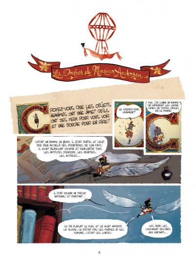 Page 1 Les ombres de monsieur Andersen