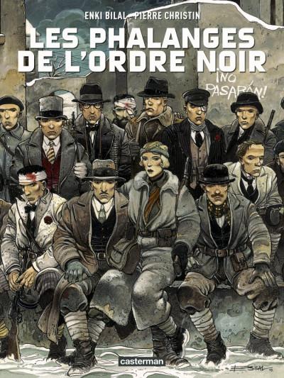 Couverture Les phalanges de l'ordre noir (édition 2015)
