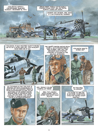 Page 2 Airborne 44 tome 5 (en anglais)