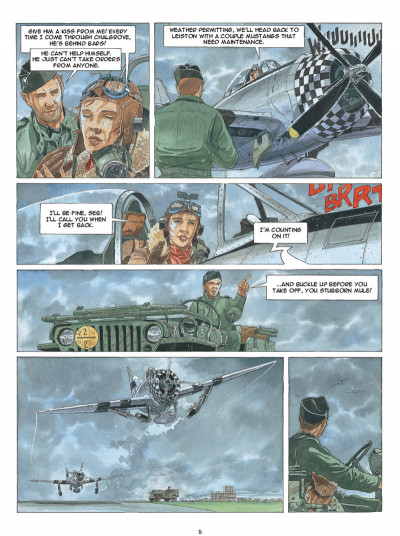Page 3 Airborne 44 tome 5 (en anglais)