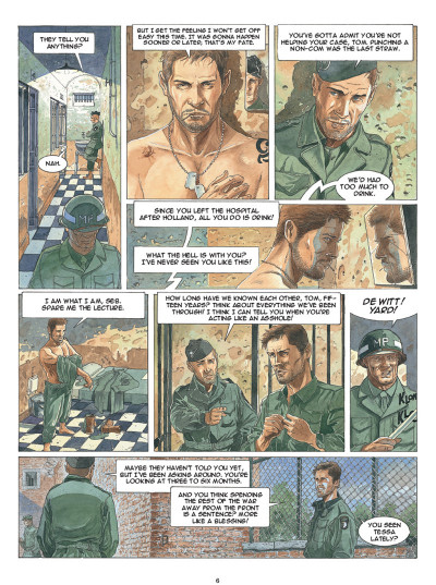 Page 4 Airborne 44 tome 5 (en anglais)