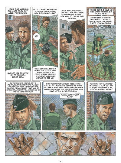 Page 5 Airborne 44 tome 5 (en anglais)