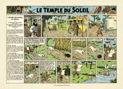 Page 3 La malédiction de Rascar Capac tome 2 - Le temple du soleil
