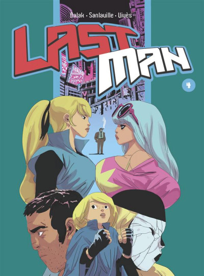Couverture Lastman tome 4 - collector