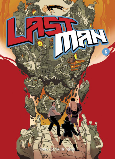 Couverture Lastman tome 6 - collector