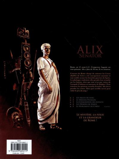 Dos Alix Senator tome 4