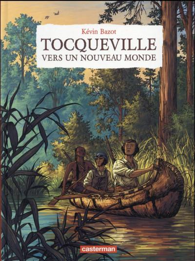 Couverture Tocqueville - Vers un nouveau monde